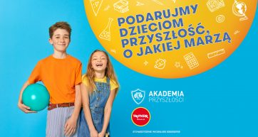 Podaruj dzieciom przyszłość, o jakiej marzą – TK Maxx i Akademia Przyszłości
