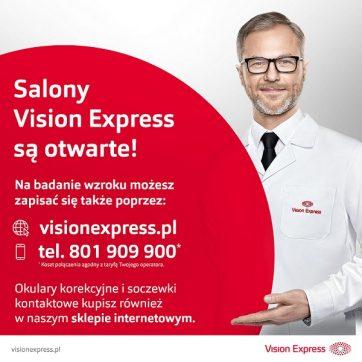 Salony Vision Express są otwarte!