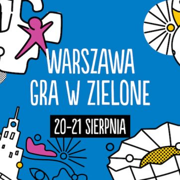 Pasaż Wiecha – Warszawa gra w zielone