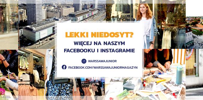 Do zobaczenia na FB i Instagramie
